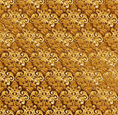 Golden ornamental background. — Stock Photo
