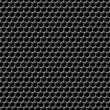 Metal grid seamless pattern. — Vector de stock
