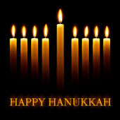 Happy Hanukkah. — Stockvektor
