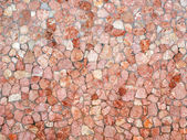 Red stone wall. — Stock Photo