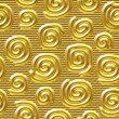 Seamlessly golden background. - Stock Photo
