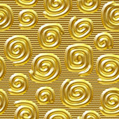 Seamlessly golden background. — Stock Photo