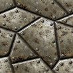 Armor seamless texture background. — Stock Photo