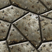Armor seamless texture background. — Foto Stock