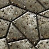 Fond de texture transparente armor. — Photo