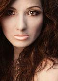 Portrait Beauty Woman — Stock Photo