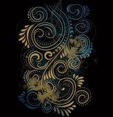 Design ornate background — Stock Vector