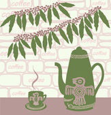 Coffee — Vector de stock