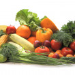 Group of vegetables and fruits — Stock Photo #8820510