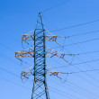 Energy: high voltage tower — Foto de Stock