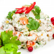 Russian traditional salad — Stock Photo #10681793
