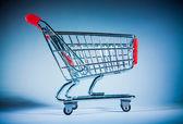 Einkaufswagen — Stockfoto