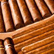 Royalty-Free Stock Photo: Cigars in humidor