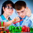 Schoolteacher and student — Stock Photo #9015318