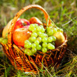 Royalty-Free Stock Photo: Basket full of fruits