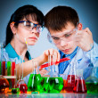 Schoolteacher and student — Stock Photo #9708109