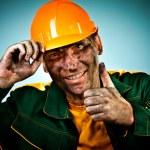 Portrait oil industry worker — Stock Photo #9708152