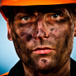 Portrait oil industry worker — 图库照片