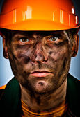 Portrait oil industry worker — Stock Photo