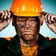 Royalty-Free Stock Photo: Portrait oil industry worker