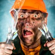 Electric Shock - Stockfoto