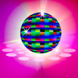 The Disco ball shining — Stock Photo