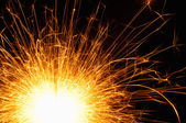 Sparking sparkler — Stock Photo