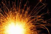 Scintille sparkler — Foto Stock