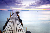 Empty pier — Stock Photo