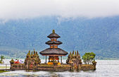 Ulun Danu temple Beratan Lake in Bali Indonesia — Stock Photo
