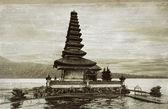 Ulun Danu temple — Stock Photo