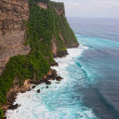 View from the rock to the Indian Ocean and waves - Lizenzfreies Foto