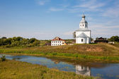 Ilinsky church at Suzdal in summer. Russia — Foto Stock