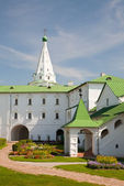 Ancient kremlin in the Russian Suzdal town (XII century) — Foto Stock