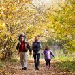Family Enjoying Walk In Park — Stock Photo #8905698