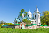 Troitsk church in Polenovo against the blue sky — Stockfoto