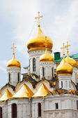 Arkhangelsk cathedral in Kremlin, Moscow, Russia — Stock Photo