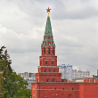 One of towers of the Moscow Kremlin, Russia — Stock Photo #9763302