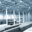 Large modern empty storehouse — Stock Photo #9851337