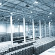Stock Photo: Large modern empty storehouse