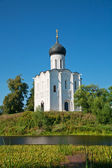 Church of Intercession upon Nerl River. — Stock Photo