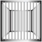 Steel cages — Stock Vector
