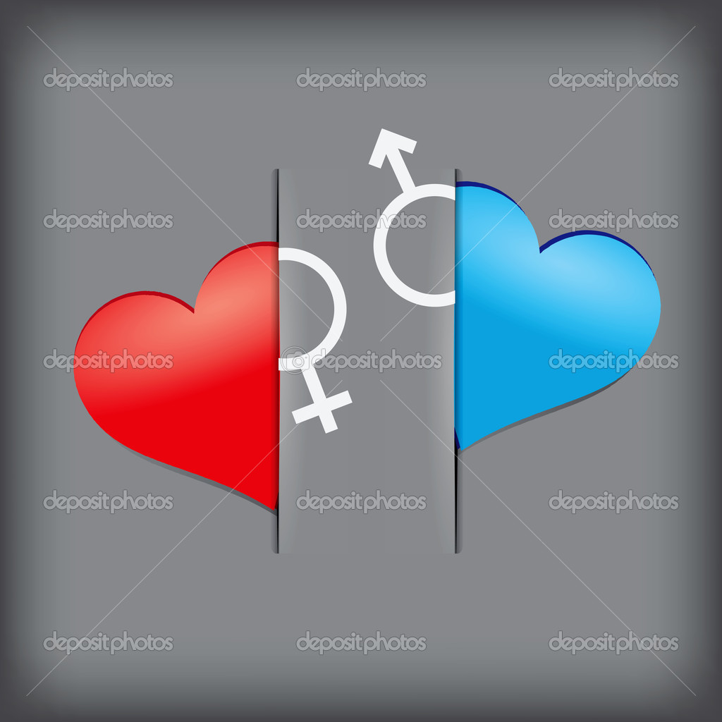 Creative Writing on the topic of love. Vector illustration. — Stock Vector #10411650