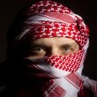 Man in a Keffiyeh — Stock Photo