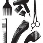 Hair set — Stock Vector