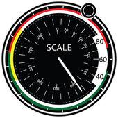Digitální váhy — Stock vektor