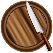 A kitchen knife — Stock Photo
