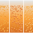 Stock Vector: Beer bubbles