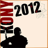 Kony 2012 — Stock Vector