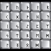 Rune symbols — Stock Vector